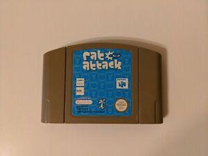 Ataque de Rata-Nintendo 64 N64-del cartucho sólo-PAL