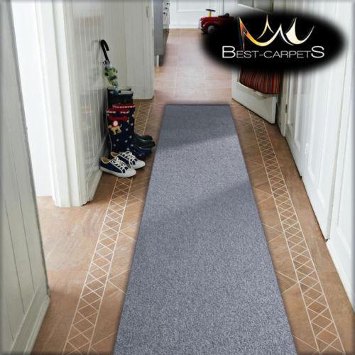 Cheap Largeur Runner Couloir Argent Moderne Couloir Largeur Cheap 50 60 70 Tapis feltback Tapis e9a600