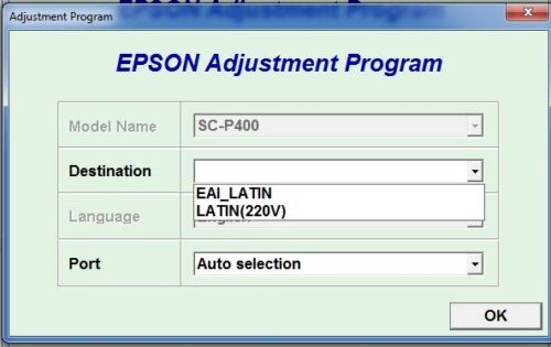 Generator Serial full Keygen Reset Epson SureColor P400 v1.0.4
