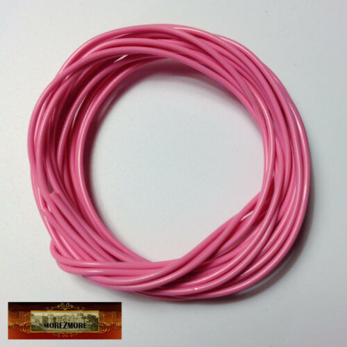 M00797 MOREZMORE Twisteez PINK Fun Craft Wire Plastic Coated 24 GA Soft