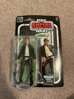 In Stock! Star Wars 40th Anniversary Black Series ESB Han Solo Action Figure
