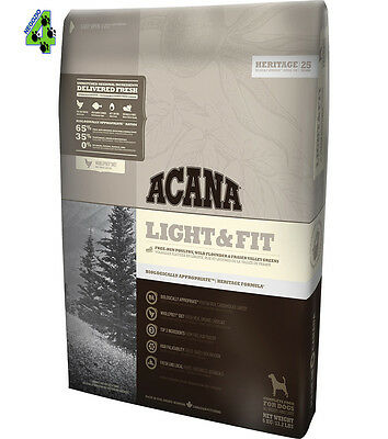 Acana Dog Light & Fit 11,4 Kg Cane Durevole In Uso