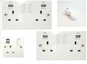 Lighting KONOQ Luxury Glass Panel 1 Gang French/EU 16A Wall Single Plug Socket