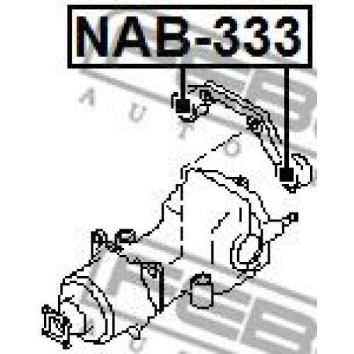 differential NAB-333 FEBEST Mounting