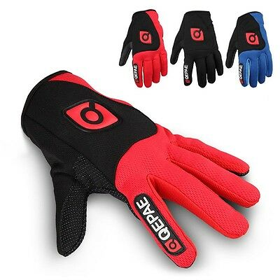 MTB  Men Women Riding Racing Mountain Bike Cycling Full Finger Gloves Shockproof