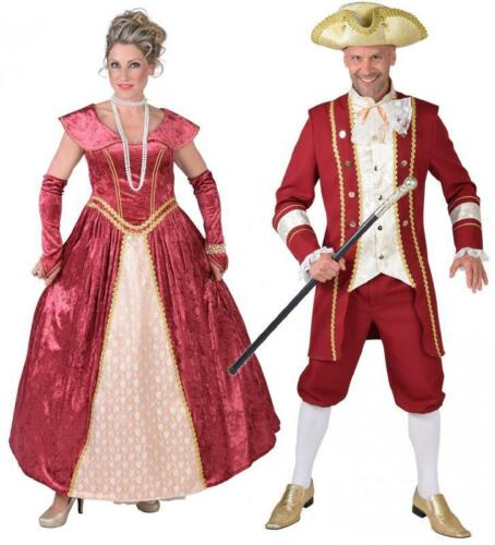 Rokoko Costume Abito marquisin barocco da donna Barone Uomo Rokoko Costume Marquis
