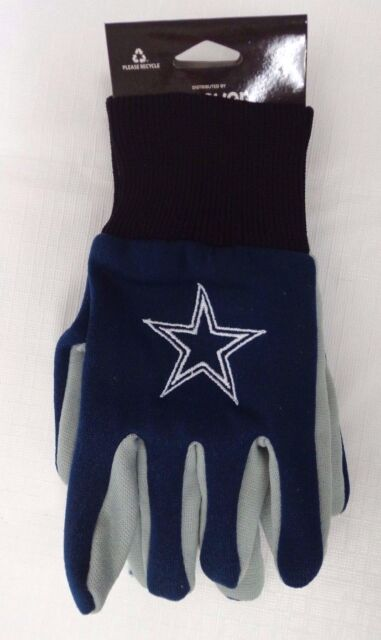 00b74ccee20 Forever Collectibles Youth Dallas Cowboys Navy/grey Work Gloves | eBay