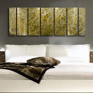 Abstract metal wall Art Painting modern Sculpture Home  Decor by Jon Allen