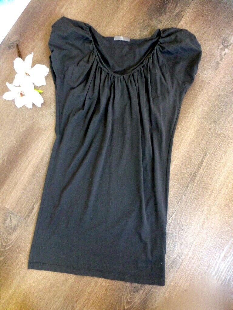 ALEXANDER McQUEEN   McQ Kleid Cruise Dress Dress Dress Shirtkleid Strandkleid grau M 36 38 | Online-Shop  | Erschwinglich  | Erlesene Materialien  dd9944