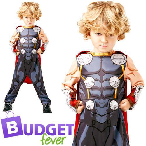 THOR età 2-3 Infinity War Bambino Costume Supereroe Costume Da Bambino Bambini Ragazzi