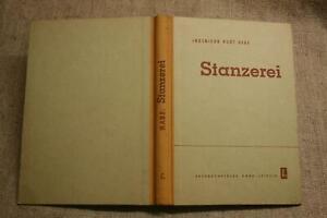 Fachbuch-Stanzerei-Stanzereimaschinen-Stanzen-Maschinenbau-DDR-1951