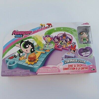 The Powerpuff Girls Storymaker System Dine /& Dash Competition Playset New