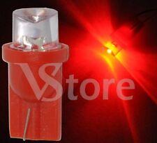 2 LED T10 CONCAVE Rosso Lampade Lampadine Luci Per Targa e Posizione W5 12V