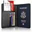 Slim-Leather-Travel-Passport-Wallet-Holder-RFID-Blocking-ID-Card-Case-Cover-US thumbnail 17
