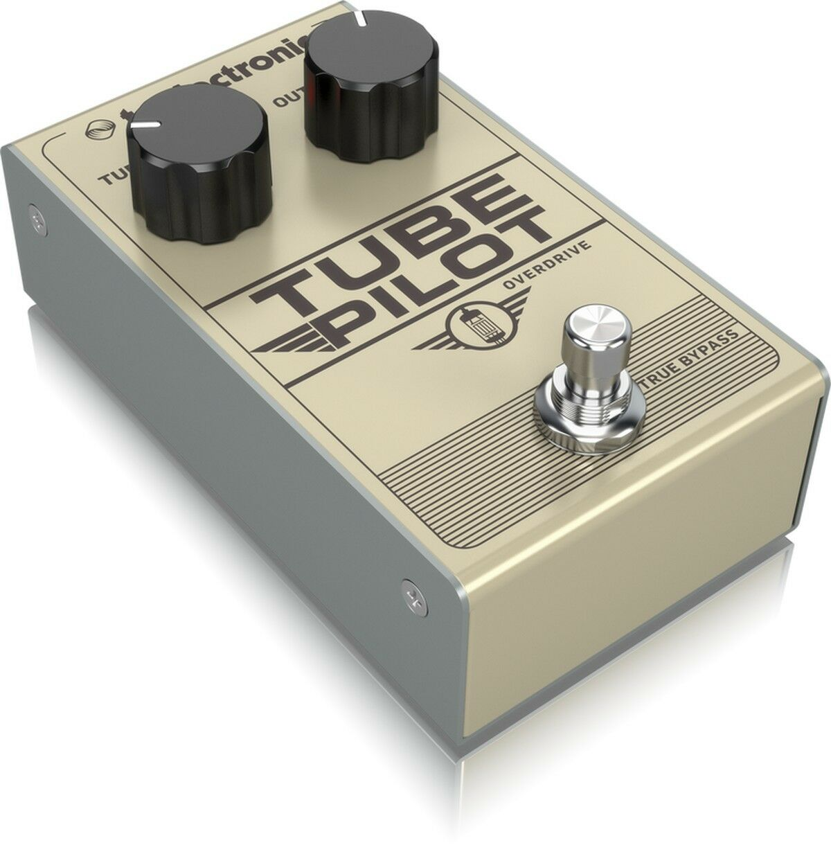 TC ELECTRONIC ROHR PILOT OVERDRIVE WIRKUNG OVERDRIVE AMP MIT REAL 12AXT