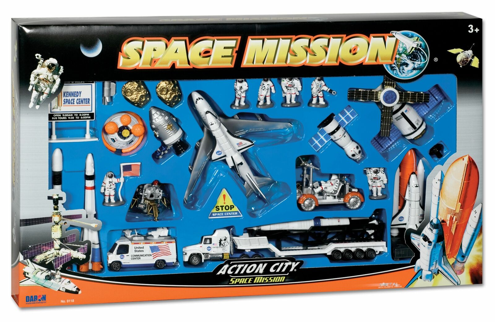 Daron Space Mission 28 Piece Kennedy Space Center Playset