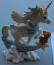 """Unicorn Figurine """"Chasing A Dream""""; The Hamilton Collection (#0294)"""