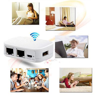 300M Mini 802.11 b/g/n AP Repeater Wifi Wireless Router 3G Modem USB Flash Drive