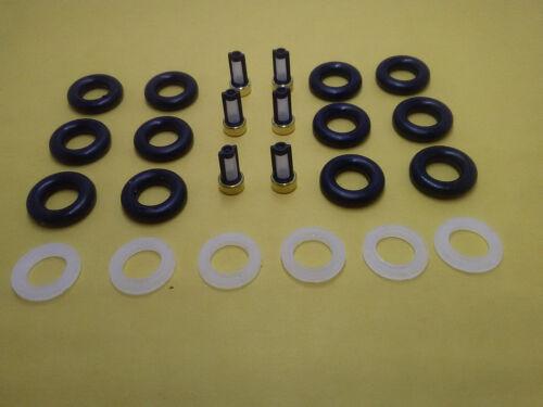 oring caps kit repair rebuild service  Bosch Fuel Injector 0280155832  filter