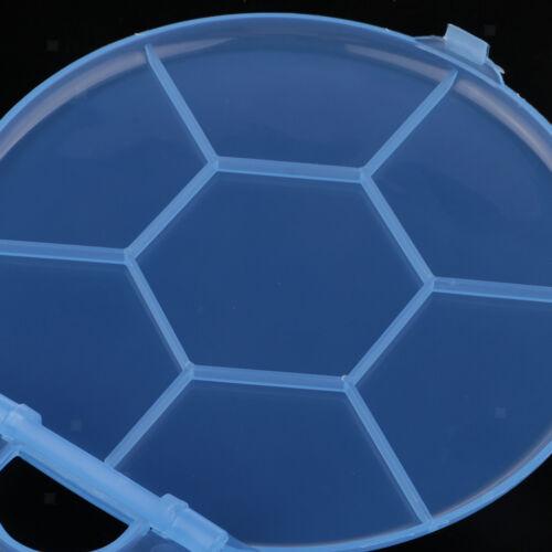 Aquarell Palette Box 10 Wells Paint Box Tray für Gouache Ölgemälde Blau