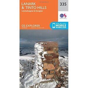 Lanark et Tinto Hills- livre de poche par Ordnance Survey- ISBN 031924587X- ISBN - 1...-afficher le titre d`origine 2jqNWAwn-08141859-871238351