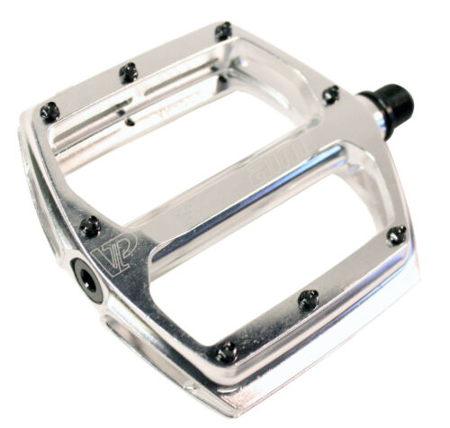 """SILVER 9//16/"""" NEW VP Components VP AIM SEALED BEARING PLATFORM PEDALS"""