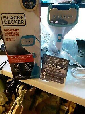 Travel Steamer Compact HGS100P Indigo BLACK+DECKER Garment Blue Hand
