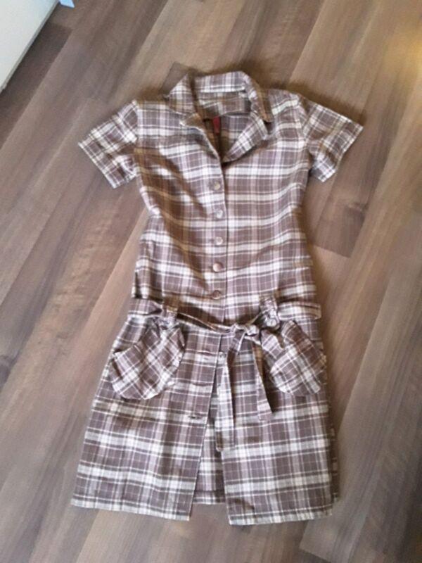Ato Berlin*mini Kleid*frauen*damen* Minikleid*dress*kariert*gr.l*w.neu