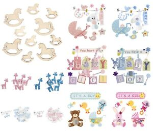 Baby-Themed-Card-Toppers-Scrapbooking-Embellishments-Craft-For-Occasions