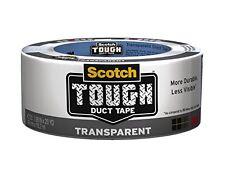 Scotch Tough Transparent Duct Tape, 1.88 in. x 20 yd.