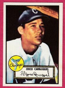 1952-Topps-Reprint-251-Chico-Carrasquel-Chicago-White-Sox