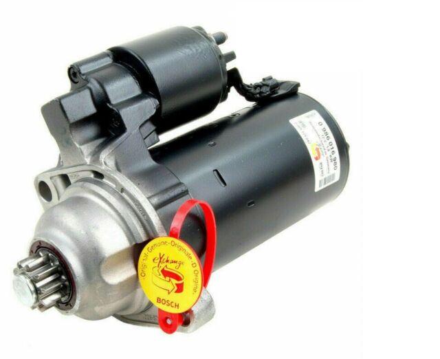 Bosch 0986016980 motor de arranque AUDI FORD SKODA SEAT VW Volkswagen-Reman