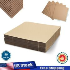 50pc Lp Record Pads1225x1225 Mailer Filler Pad Corrugated Cardboard Sheets