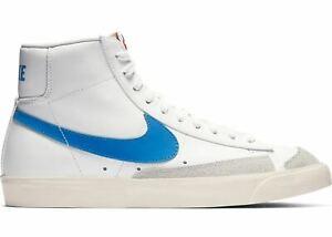 Mens-Nike-Blazer-Mid-039-77-Vintage-Pacific-Blue-White-Sail-BQ6806-400