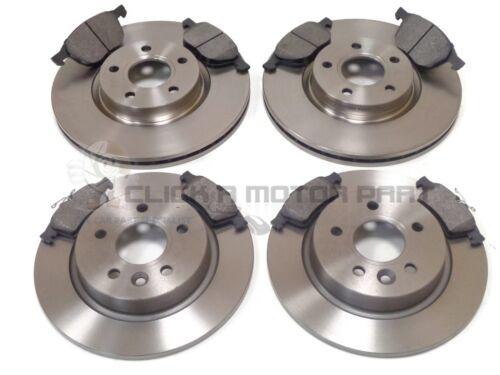 VOLVO S40 MK2 1.6 1.8 2005-2013 FRONT /& REAR BRAKE DISCS AND PADS SET NEW