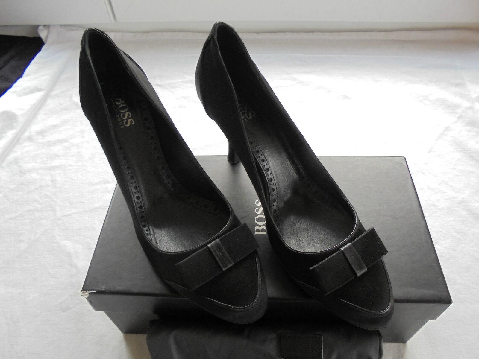 Hugo Boss NEU Pumps NP:  w NEU Boss + OVP Tasche High Heels Schuhe 37 37,5 38 f217d6