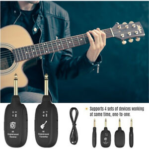 UHF-Guitar-Wireless-System-Transmitter-Receiver-Built-in-Rechargeable-20Hz-20kHz