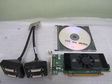 Nvidia Quadro NVS420 512MB GDDR3 Quad DVI ATX Windows10 PCI-E Video Card +