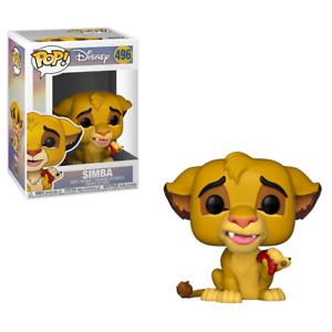 Lion King POP Disney Vinyl Figure #496 Simba Funko POP