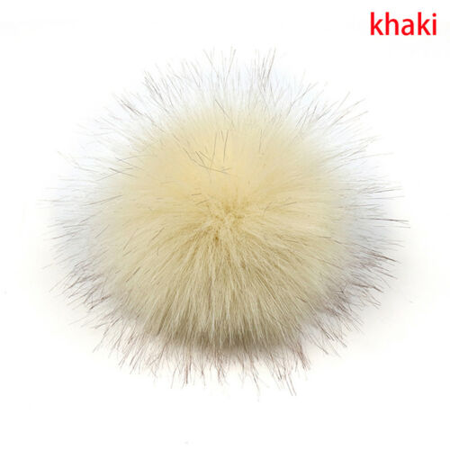 15cm Big Raccoon ball Keyring Ball Pom Charm Bag Clothes Ball IU