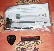 Gibson Les Paul Adapter Cable Set Quick Connect Guitar Parts Custom HP 5 Wire T