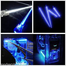 "2×6"" + 2×12"" Blue LED Car Chassis Decor Neon Light Strips CCFL Cold Cathode Tube"