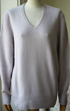 THE ROW OZ CASH OVERSIZED CASHMERE SWEATER SMALL