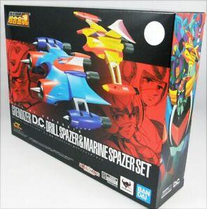 GX-76X2-Goldrake-Grendizer-D-C-Drill-Spazer-amp-Marine-Spazer-Set-Bandai-Tamashii