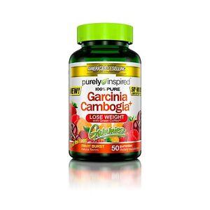 Garcinia Cambogia Gummies 50 Count Fruit Burst Weight Loss Supplements 100% Pure