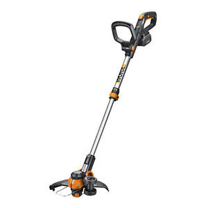 WG180 WORX 40 Volt Max Li ion 12 Cordless Grass Trimmer with Command Feed