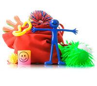 Fiddle Kit Tactile - Koosh Ball Tangle Bendy men bog eyed buggly ADHD fidget toy