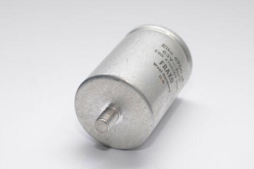 Vintage Elko-Kondensator von Frako Typ HPF Audio Capacitor NOS 4700 µF // 63 V