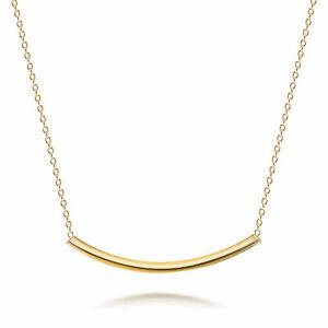 Sideways-Horizontal-Bar-Slide-Pendant-Necklace-14K-Gold-Plated-Sterling-Silver