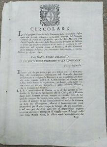 1799-PAVIA-CIRCOLARE-GOVERNO-PROVVISORIO-AUSTRO-RUSSO-SU-REQUISIZIONI-DI-GUERRA